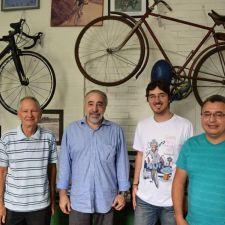 Rasca visita a Federação Paranaense de Ciclismo
