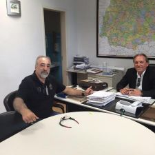 Rasca comunica o início da reconstrução de ponte Bandeirantes-Itambaracá em 10 dias