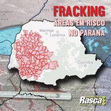 Confira se o seu município está na área de risco de exploração pelo Fracking