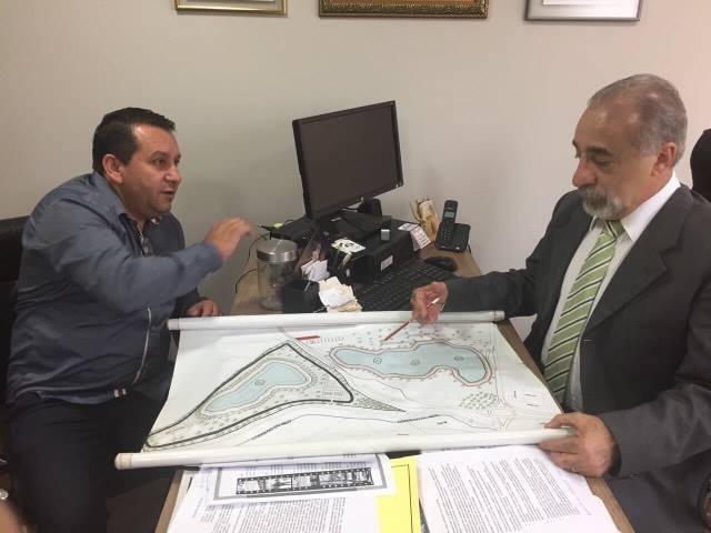 """Deputado Rasca apoia o projeto """"Prainha de Guaíra"""""""