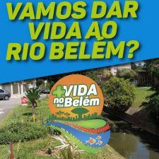 Dia do Rio: Recuperação do Rio Belém é tema de campanha e cartilha educativa