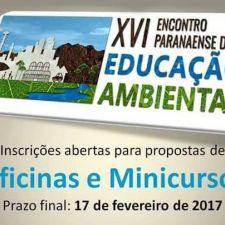 Última semana de inscrições: Oficina ou Minicurso no Encontro Paranaense de Educação