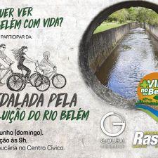 Curitiba terá a 1ª Pedalada pela despoluição do Rio Belém no dia 25 de junho