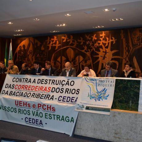 População do Vale do Ribeira é contra instalação de PCHs nos rios da região