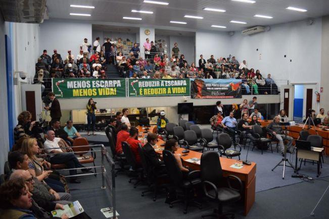 Ponta Grossa: Atos fortalecem resistência de Ponta Grossa à redução da APA da Escarpa Devoniana