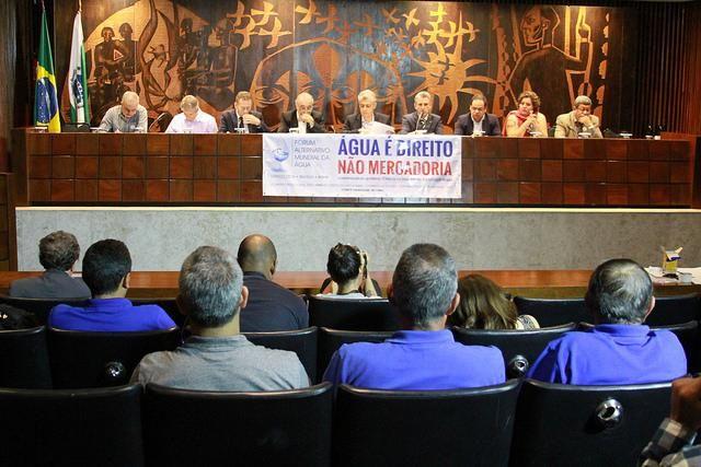 Audiência pública na Assembleia Legislativa debate questão da exploração econômica da água