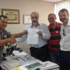 Rasca e gestores discutem ações em prol dos animais para Pontal do Paraná