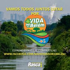 Plano de revitalização do Rio Belém ganha fôlego e ações já estão em andamento
