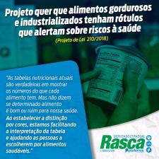 Projeto quer que alimentos gordurosos e industrializados tenham rótulos que alertam sobre riscos à saúde