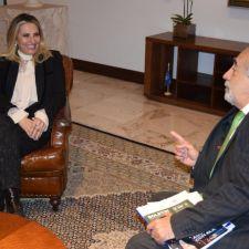 Rasca discute propostas em prol dos animais e meio ambiente com governadora Cida Borghetti
