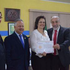 """Rasca recebe homenagem do """"Movimento Duplicação Já"""" pelo trabalho na conquista da duplicação da Leopoldo Jacomel"""