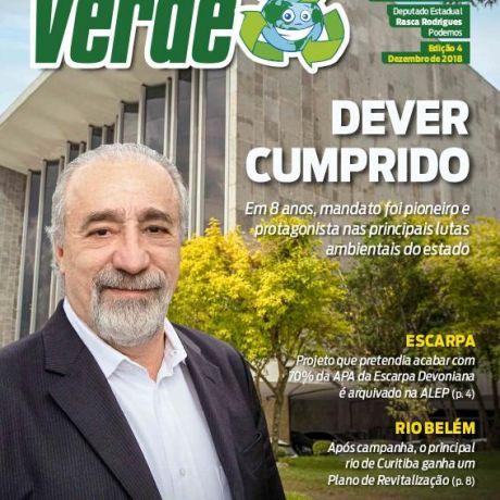 Em 8 anos de mandato, Rasca Rodrigues foi protagonista das principais lutas ambientais do Paraná