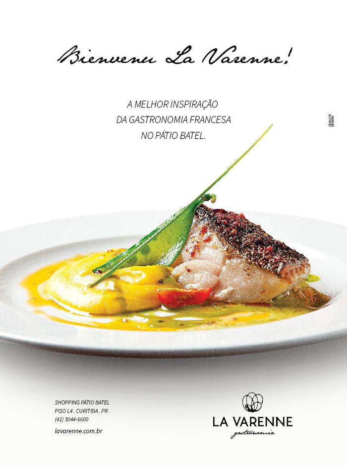 Revista Top View - Restaurante La Varenne.
